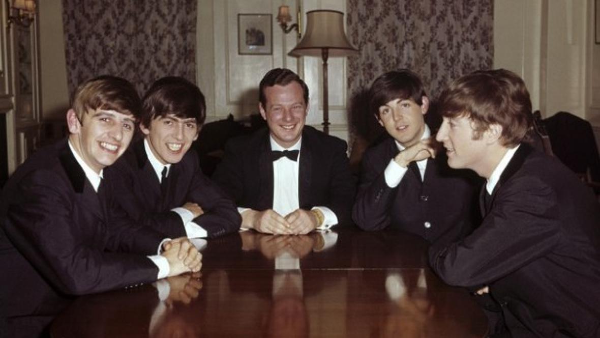 The Beatles a Brian Epstein