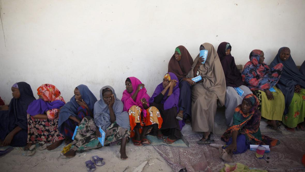 Somálské ženy v Mogadišu