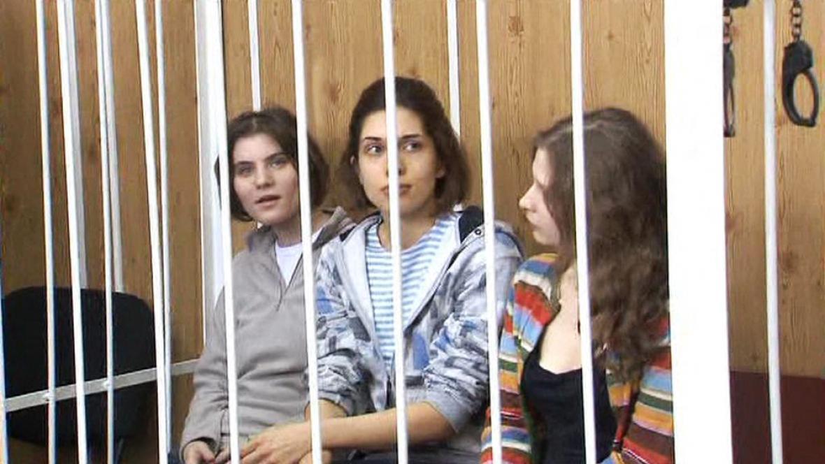 Pussy Riot před soudem