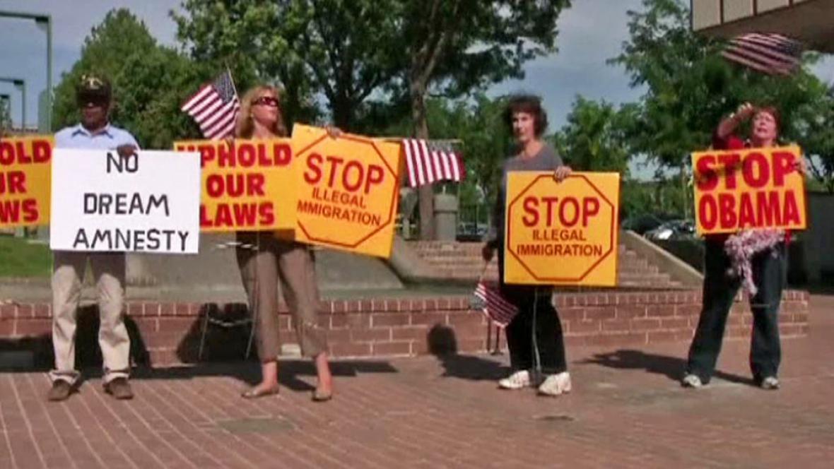 Protest proti Obamově