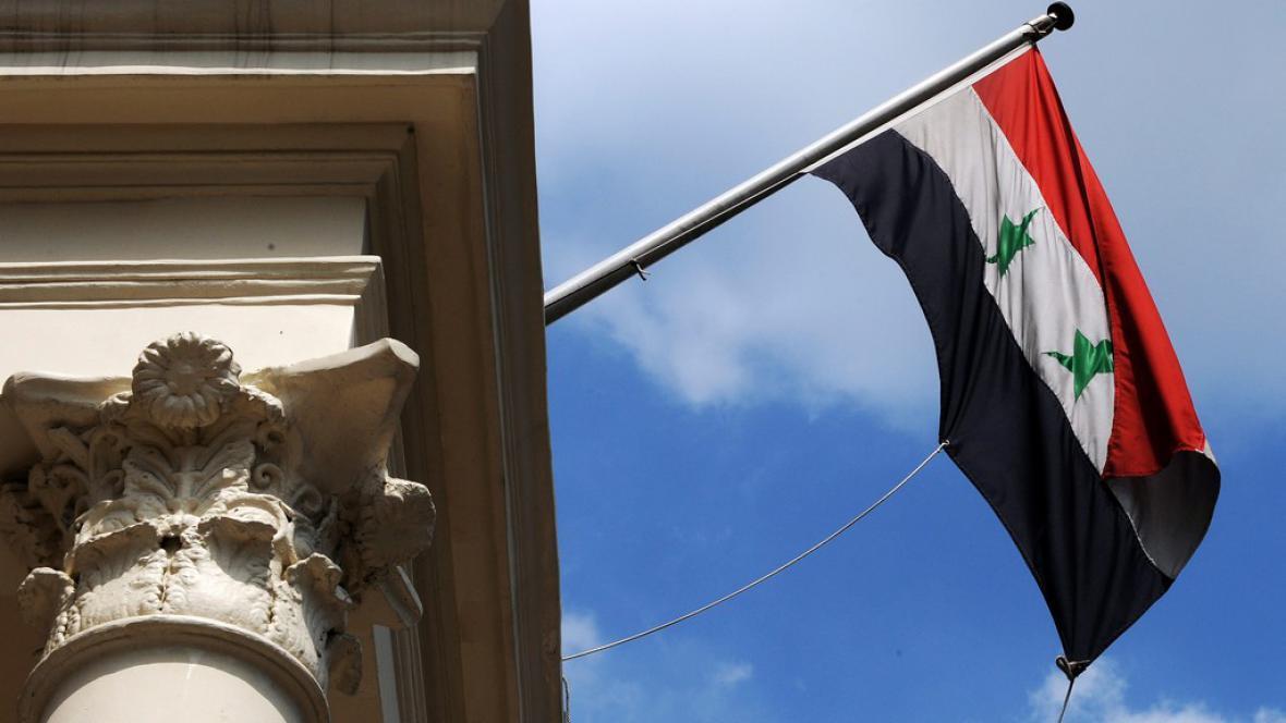 Vlajka Sýrie