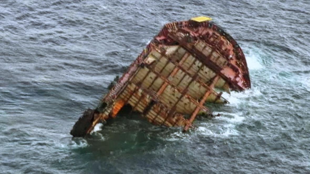 Vrak nákladní lodi Rena