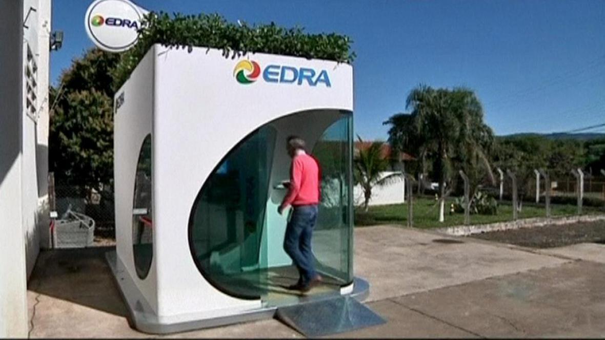 Brazilský ekologický bankomat