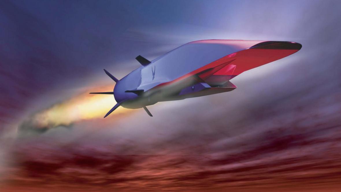 Letoun X-51A Waverider