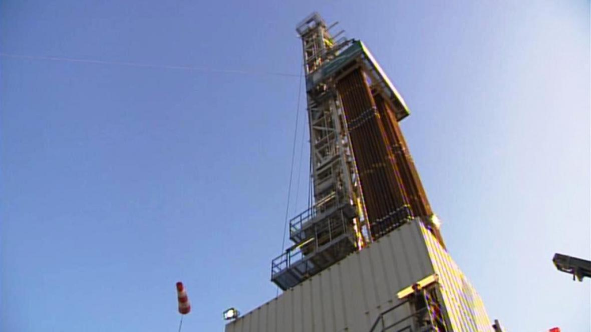 Těžba plynu