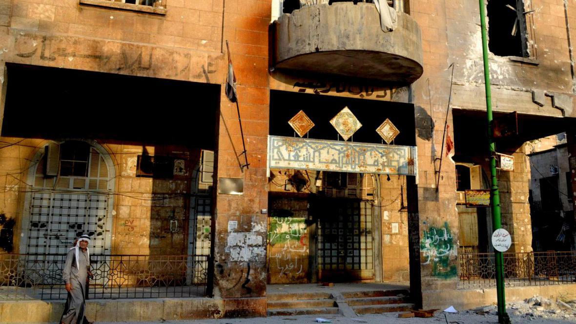 Boje o město Halab