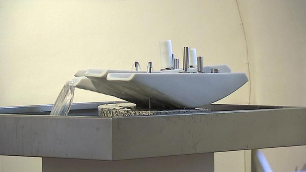 Hydrokinetická fontána