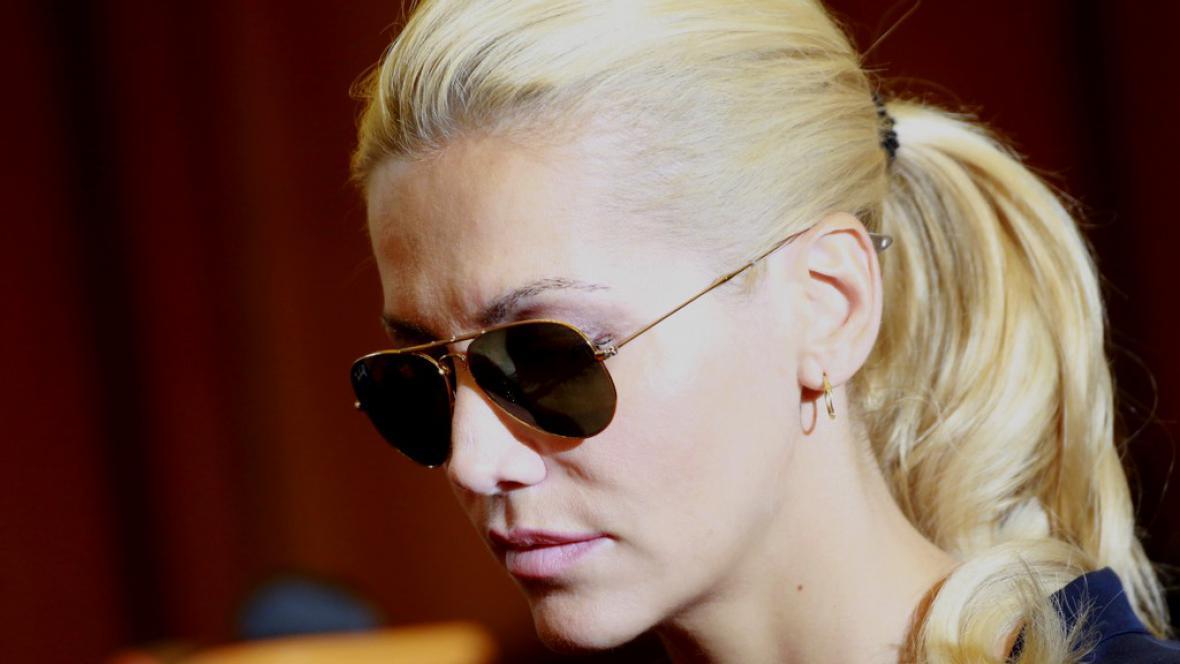 Zpěvačka Dara Rolins u soudu