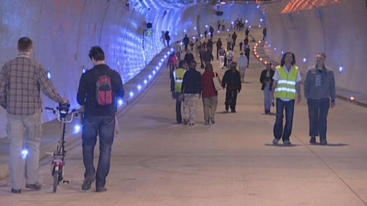 Prohlídka Královopolského tunelů