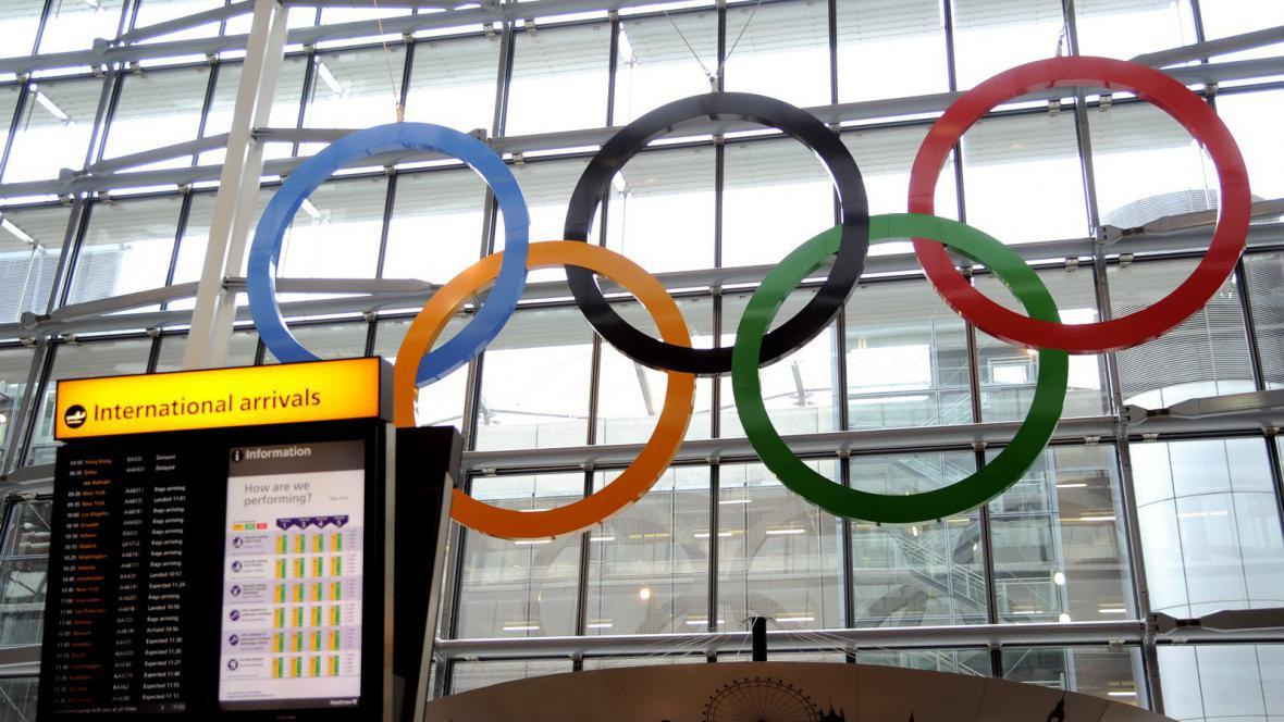 Lětiště Heathrow během olympiády