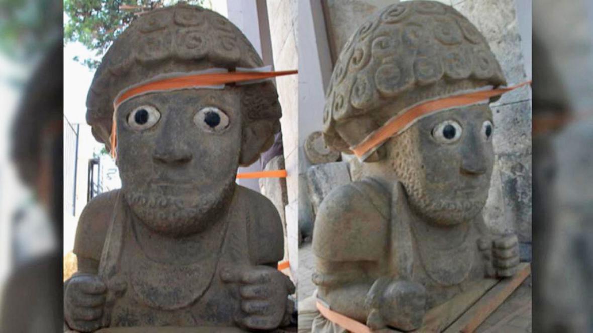 Neochetitské sochy z jihovýchodního Turecka