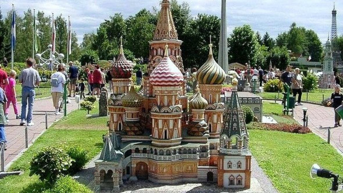 Miniatura chrámu Vasileje Blaženého v Moskvě