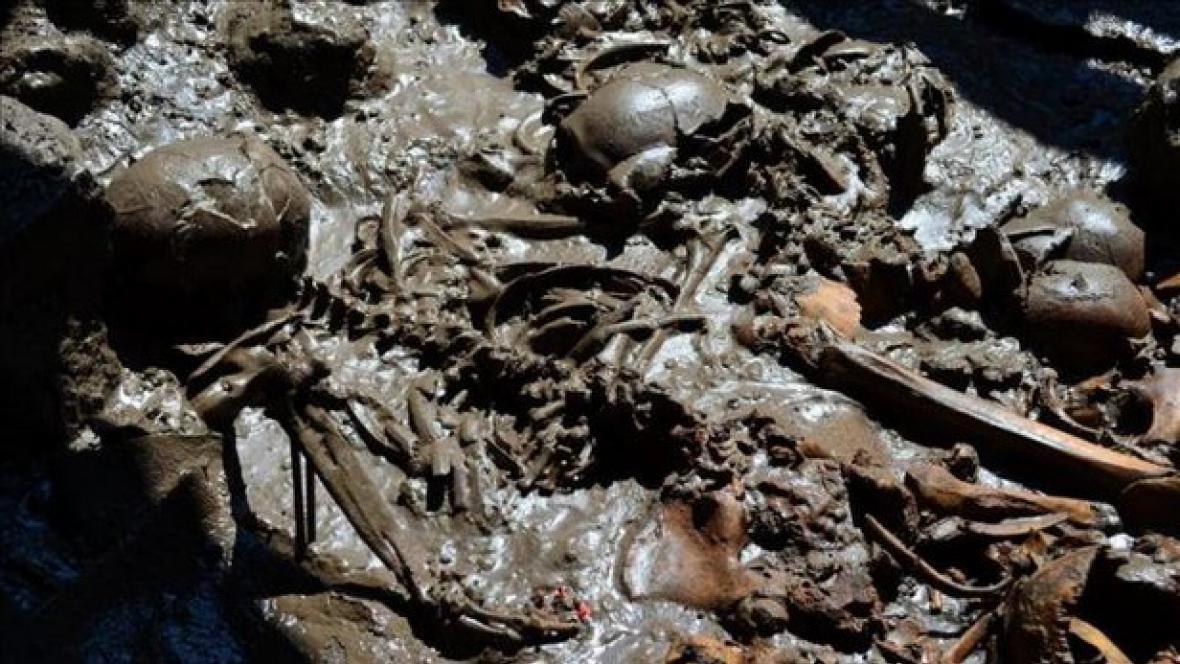 Hrob v Mexiku