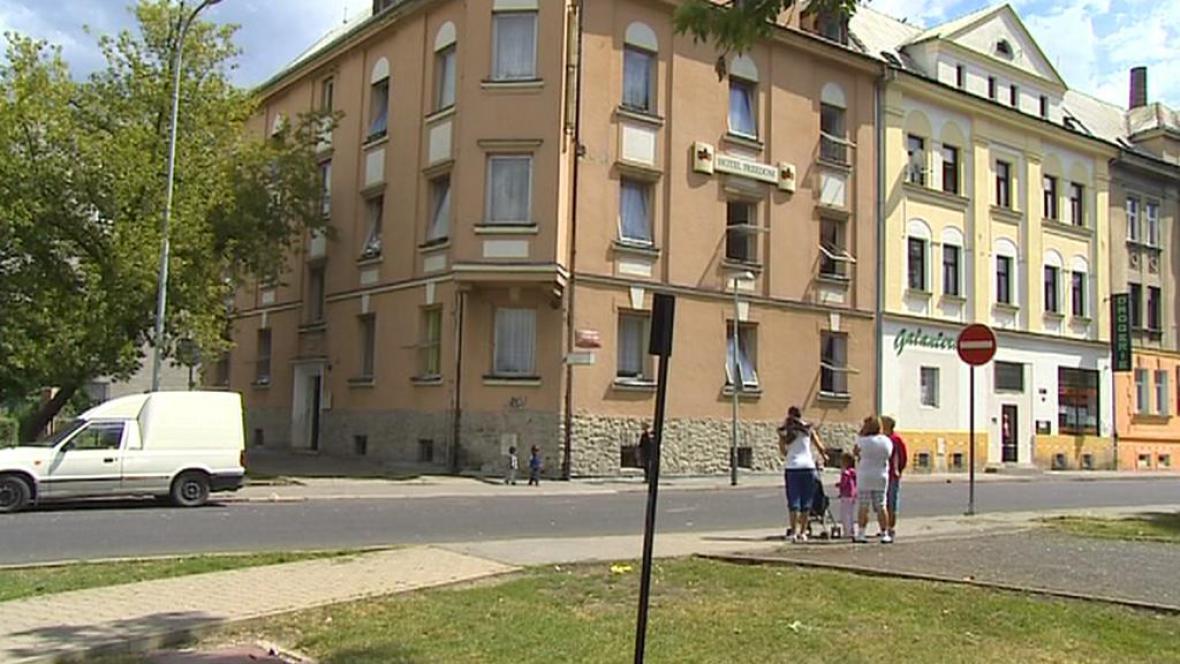 Ubytovna pro sociálně slabé v Ústí nad Labem