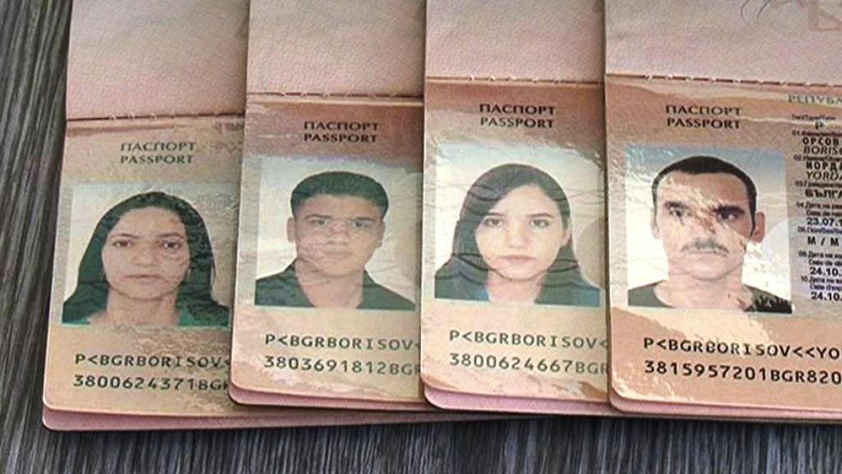 Pasy ilelgálních migrantů