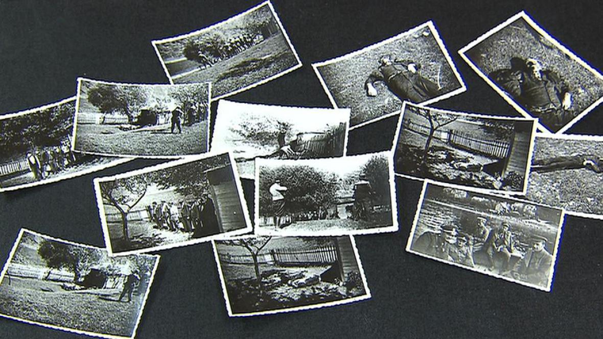 Fotografie z konce 2. světové války - Živohošť