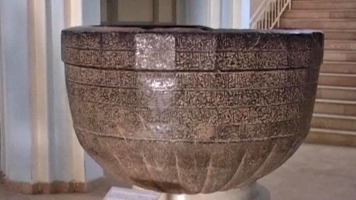 Exponát Afghánského národního muzea