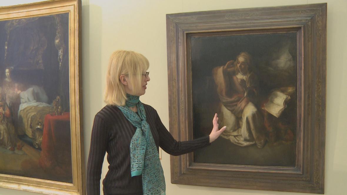 Willem Drost / Zvěstování Panně Marii