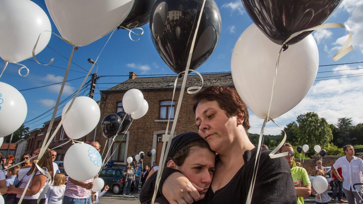 Protest proti propuštění Martinové