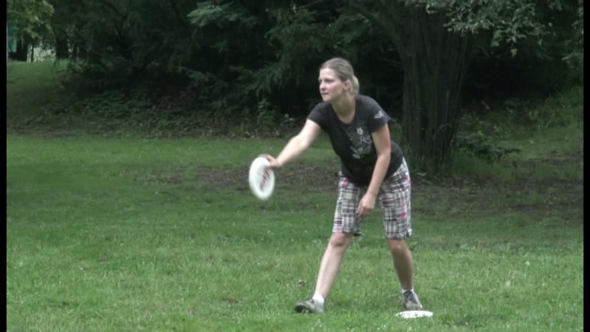 Hráčka frisbee
