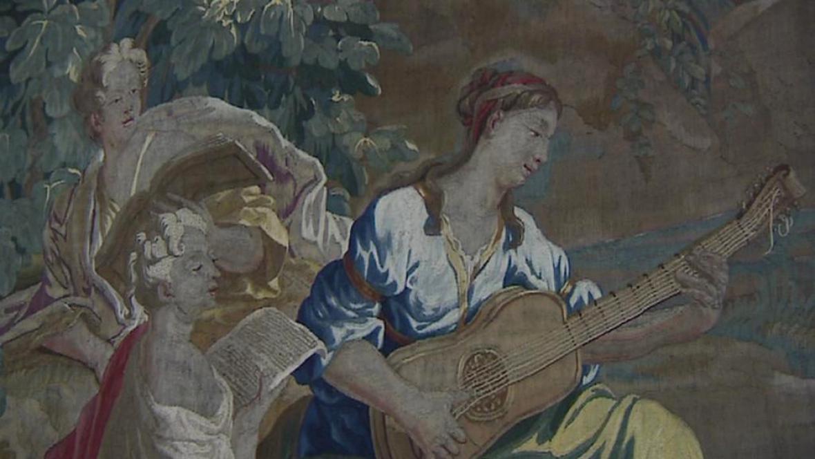 Tapiserie z jindřichohradecké sbírky