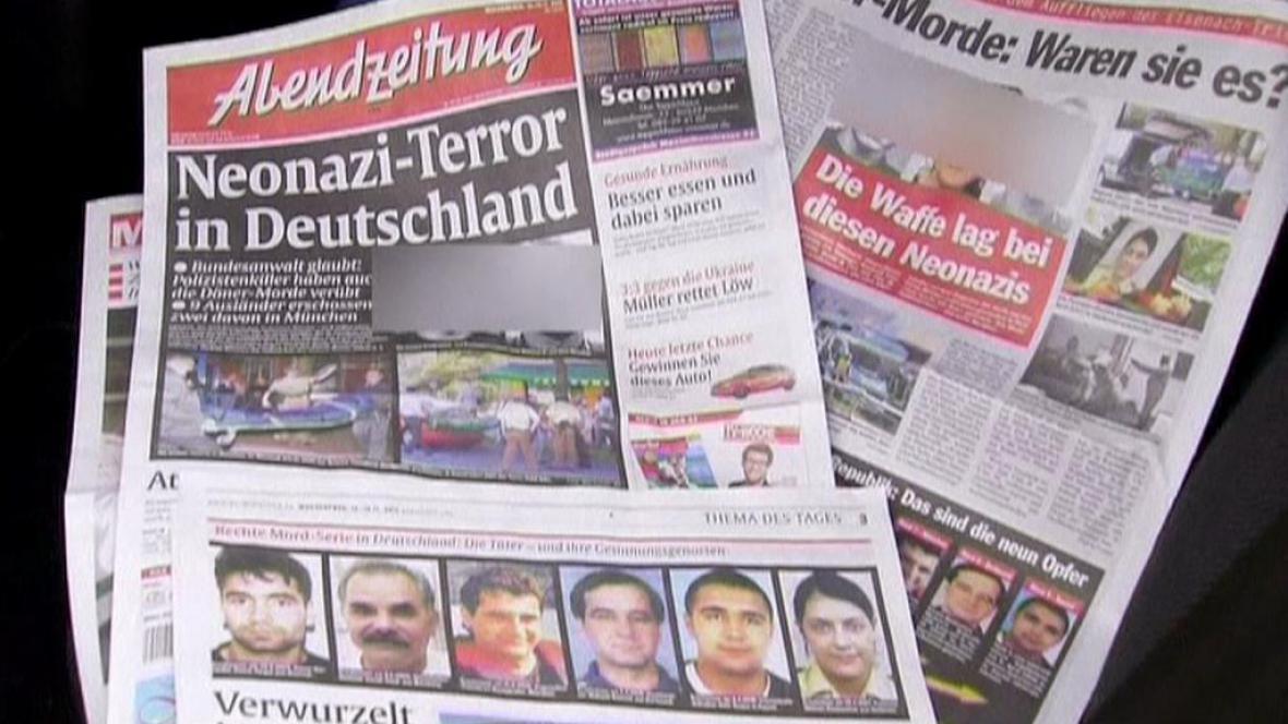 Kebabové vraždy v novinách