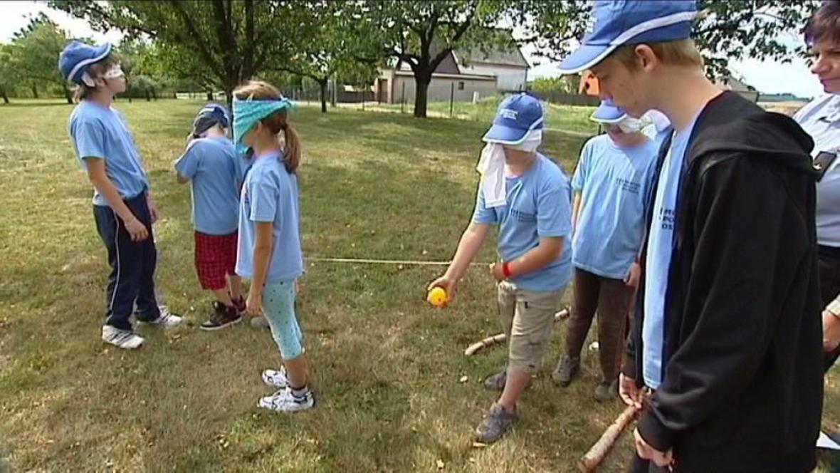 Foto z dětského tábora