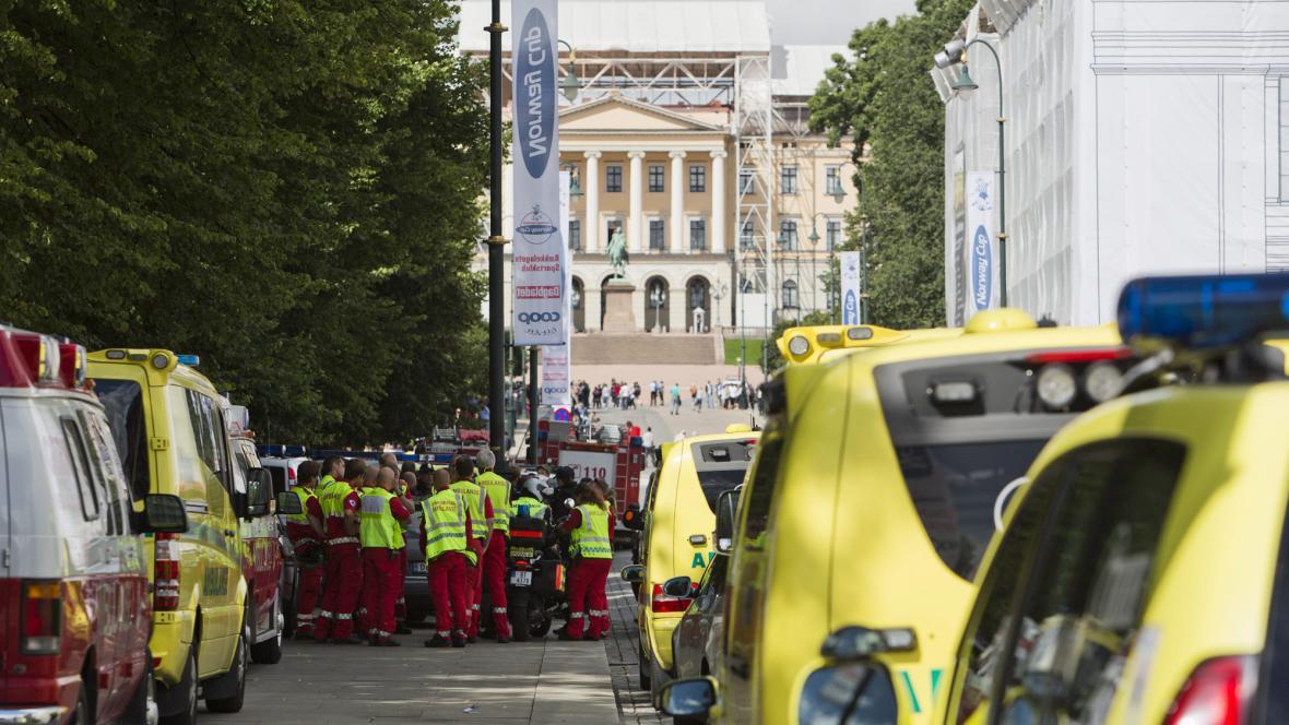 Centrum Osla se mobilizovalo kvůli falešnému poplachu