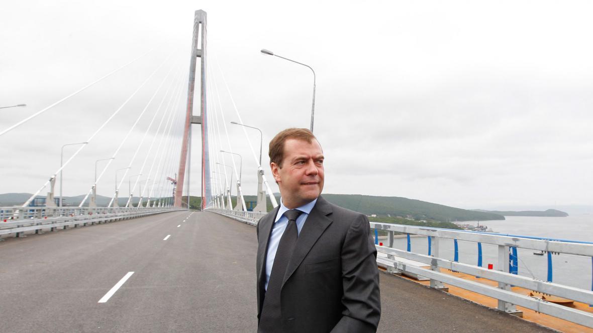 Most ve Vladivostoku