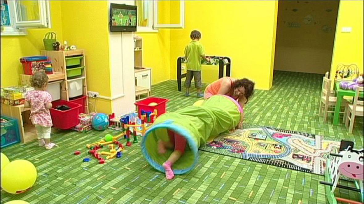 Nový dětský koutek v Opavě