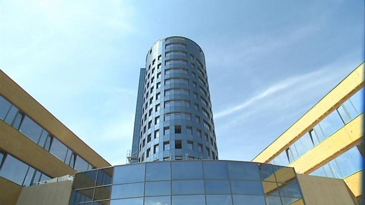 Nový mrakodrap v Olomouci
