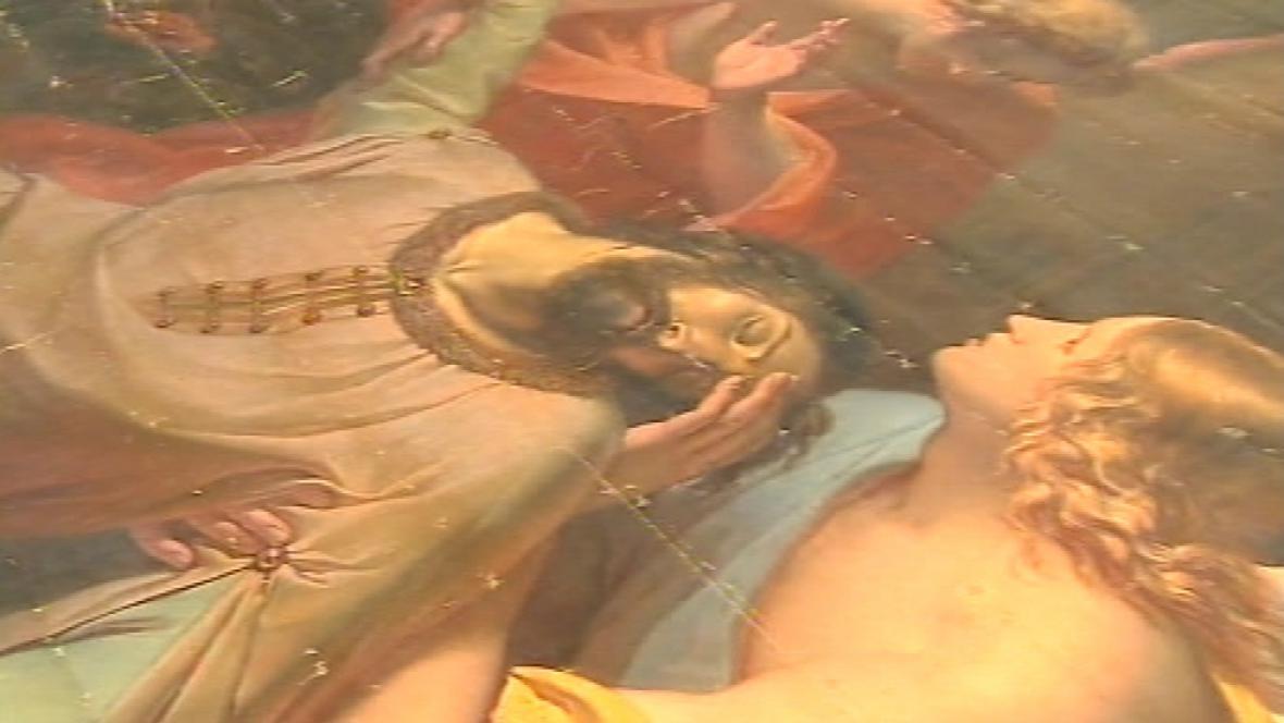 Největší český obraz se sv. Václavem