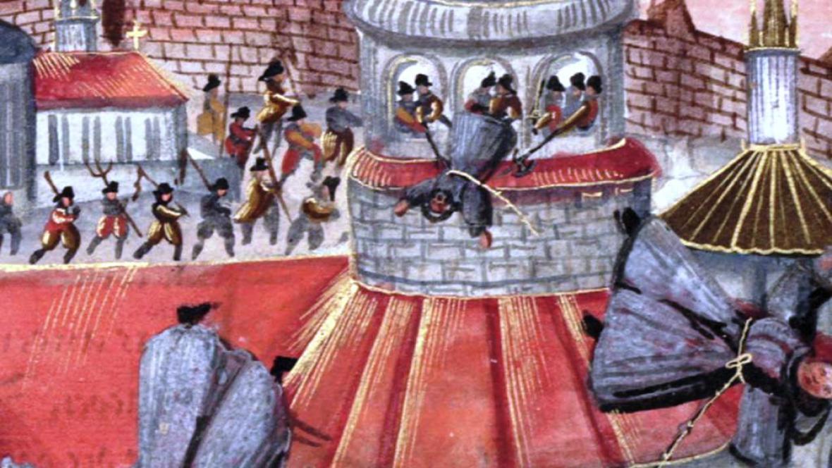 Mučení františkánů