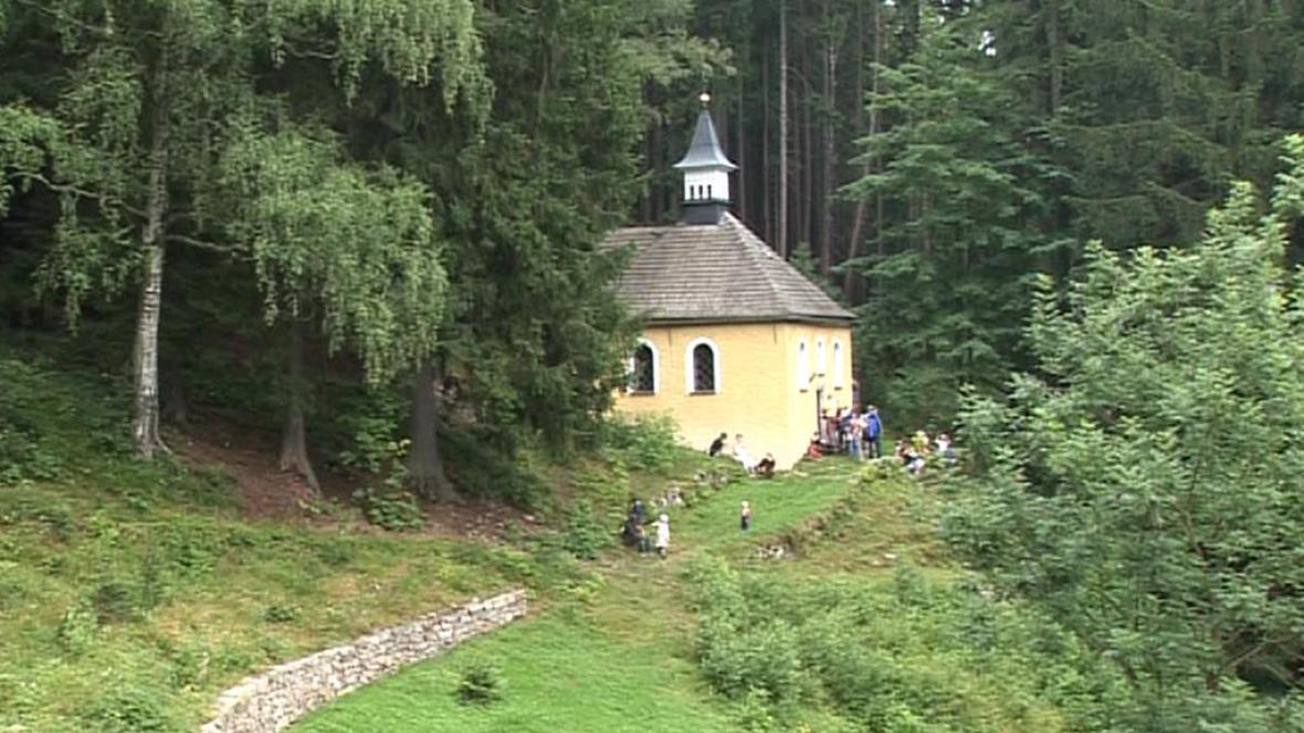 Kaple svaté Anny v Krkonoších