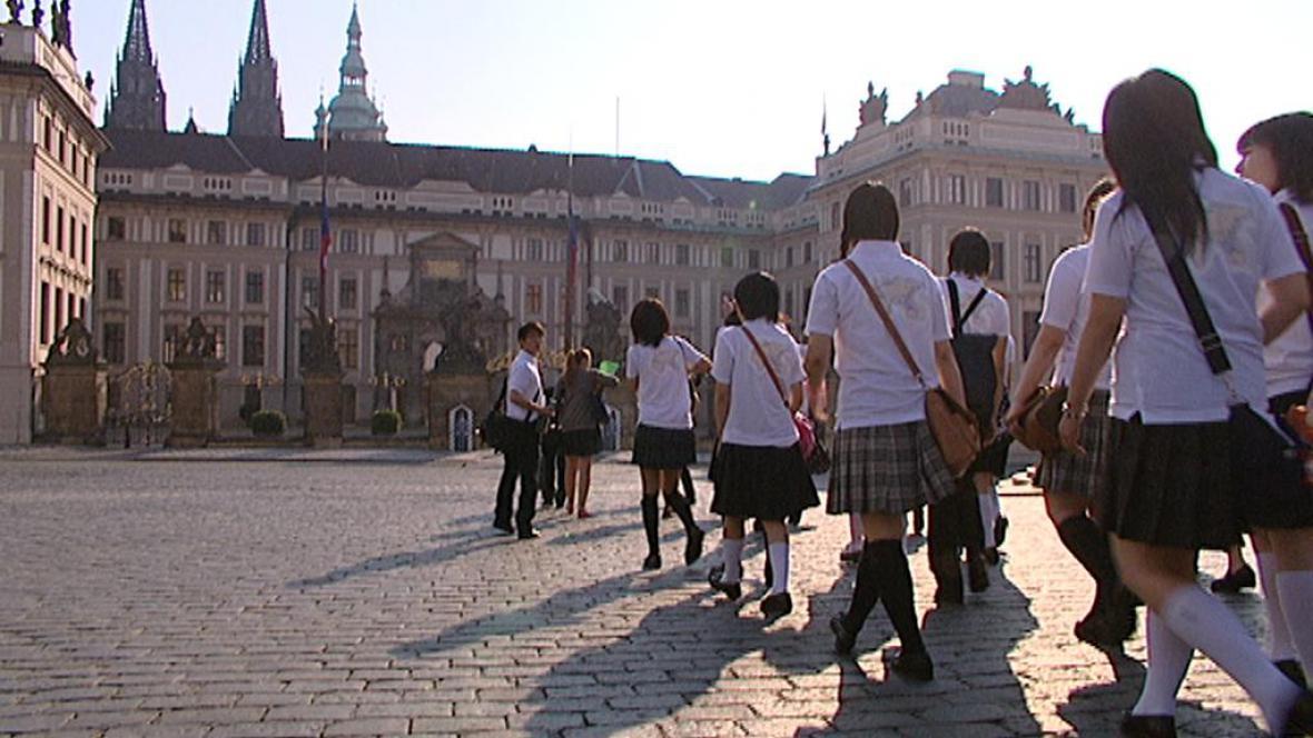 Fukušimské děti na návštěvě v Praze