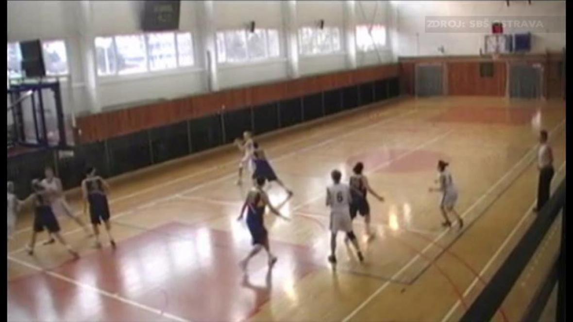 Basketbalistky SBŠ Ostrava
