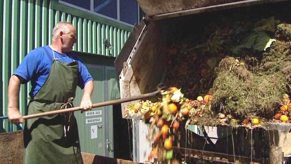 Zpracování bioodpadu