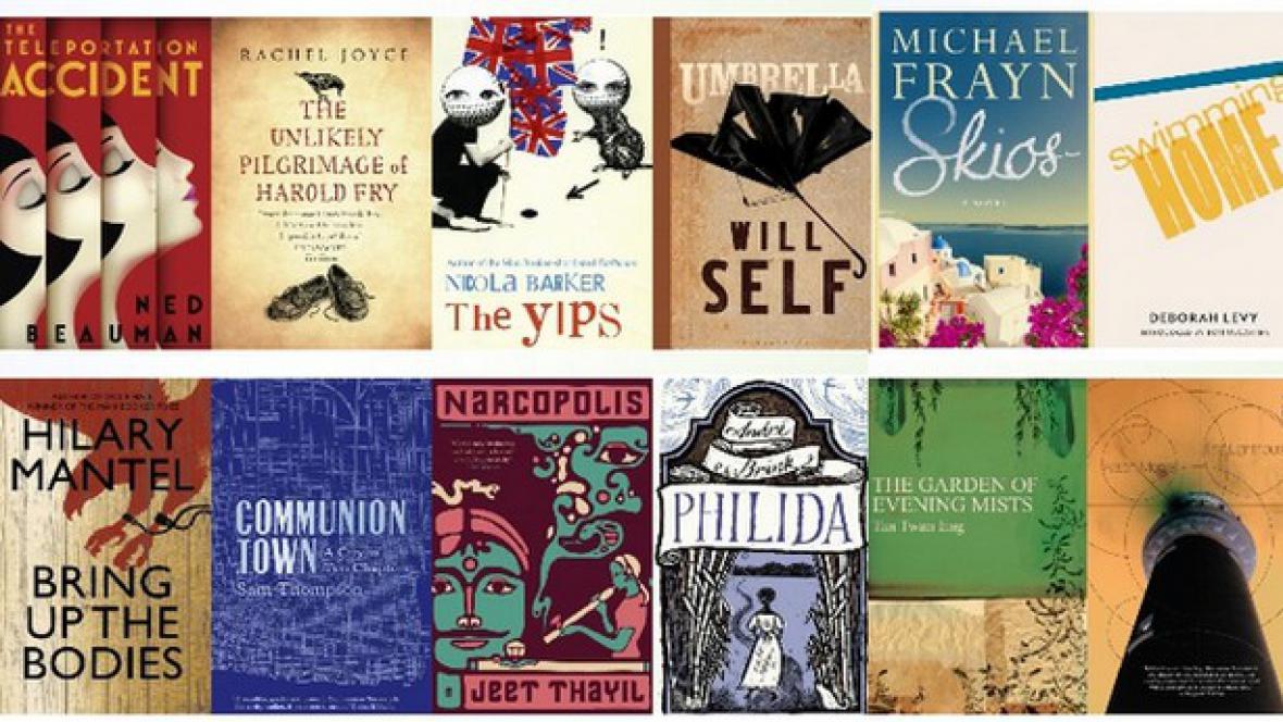 Knihy nominované na Man Bookerovu cenu 2012