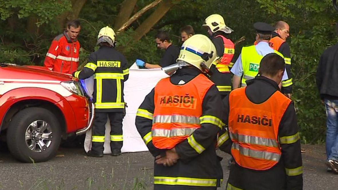 Smrtelná nehoda u Hrádku nad Nisou