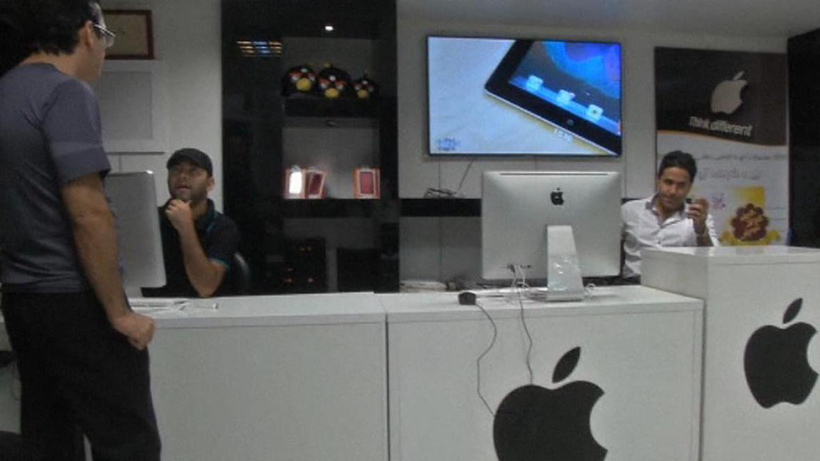 Apple v Íránu