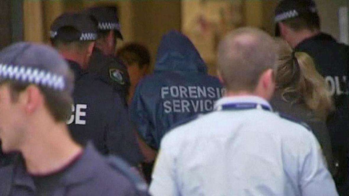 Zásah australské policie
