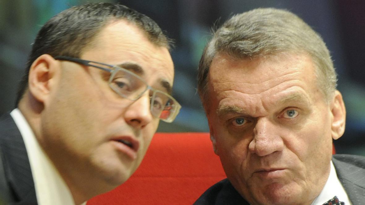 Boris Šťastný a Bohuslav Svoboda