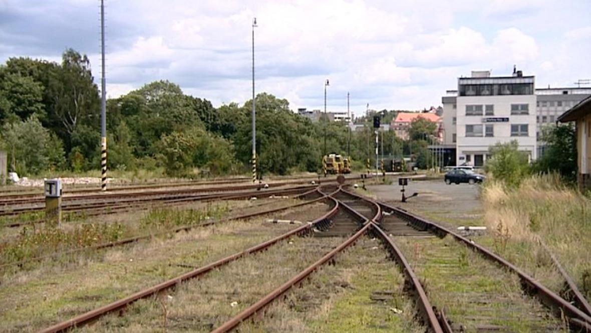 Dolní nádraží Karlovy Vary