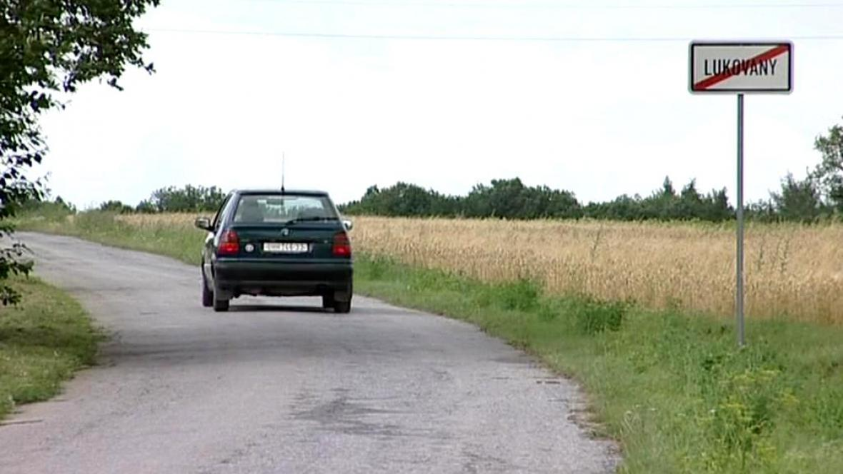Silnice v Lukovanech