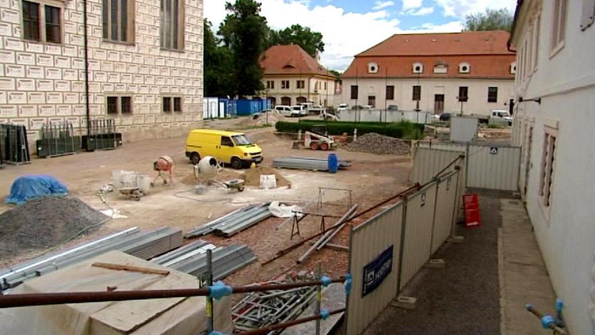 Rekonstrukce zámku v Litomyšli