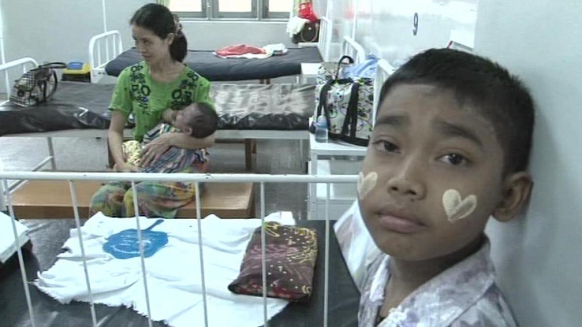 Děti z Barmy