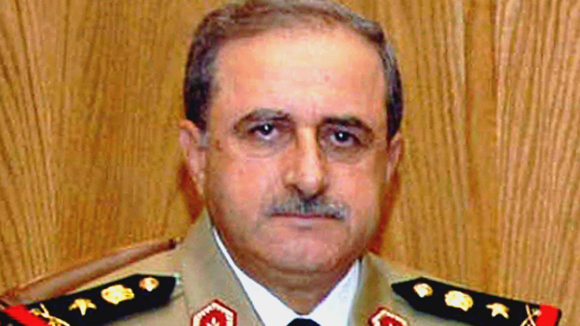 Syrský ministr obrany Dáud Radžha