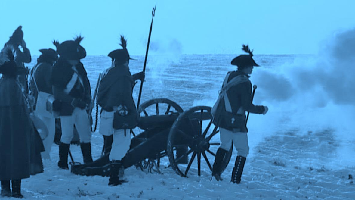 Rekonstrukce napoleonské bitvy