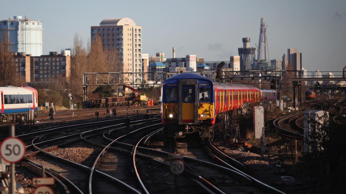 Britská železnice