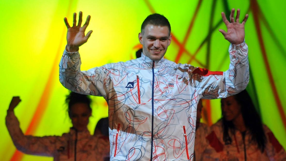 Ondřej Synek představuje kolekci olympijského oblečení